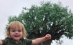 Toddler with Tree of Life